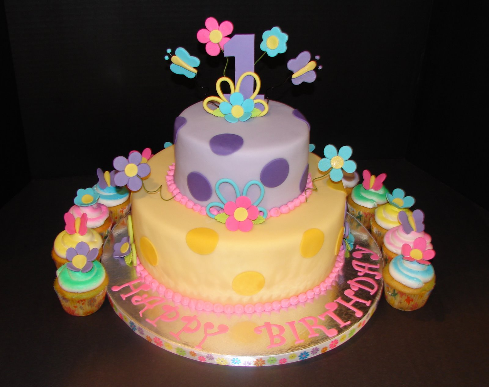images of girls birthday cakes