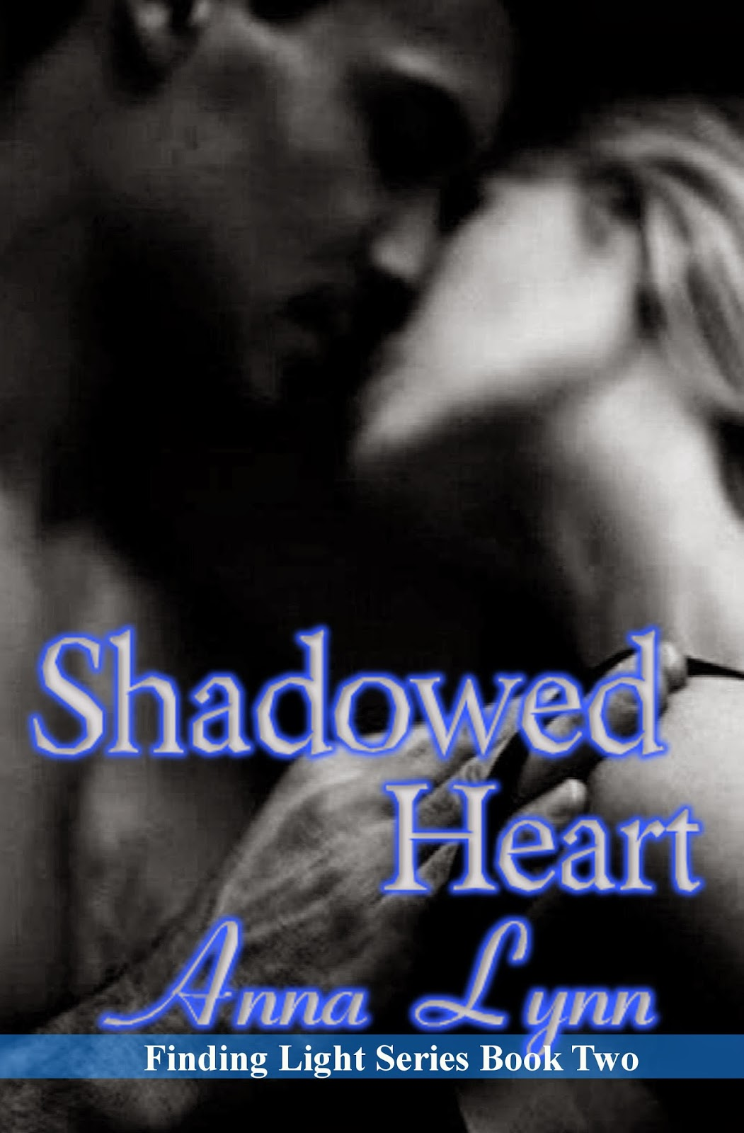 book cover art for Shadowed Heart by Anna Lynn