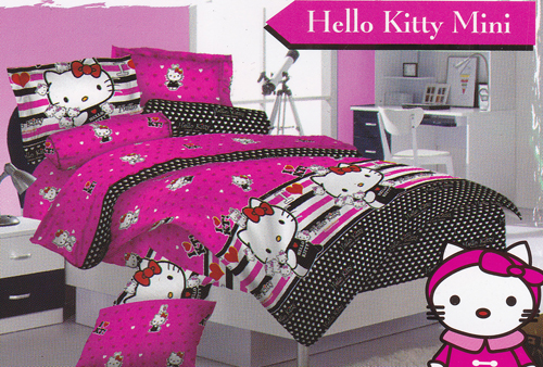 Sprei Love Story Kitty Mini