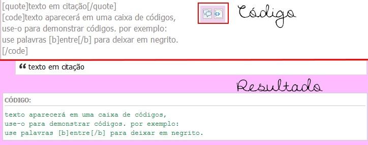 Formatando seu texto (BBCode) 5