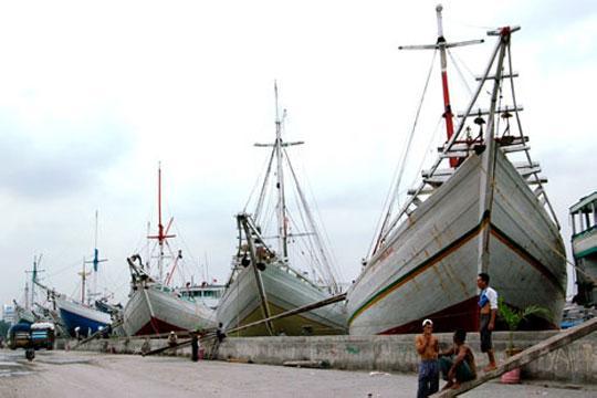 Objek wisata Pelabuhan Sunda Kelapa Jakarta 3