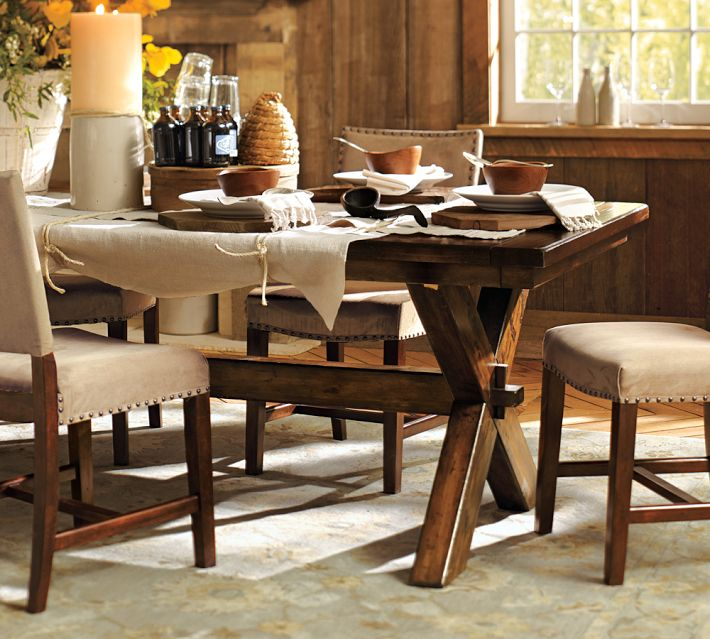 Uncategorized Alina Sewing Design Co - Pottery barn extension dining table