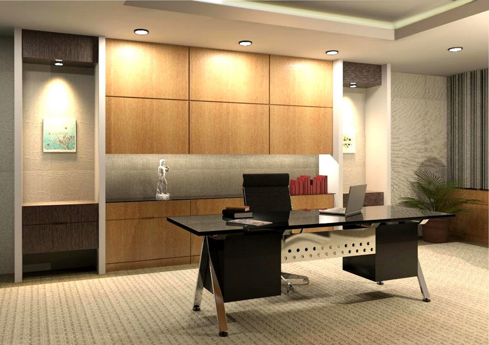 Modern work office decorating ideas 15 inspiring designs for Office room decoration ideas