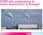 STOP ALLA COSTRUZIONE DI NUOVI INCENERITORI IN EUROPA