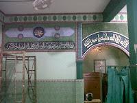 jasa lukis dinding kaligrafi untuk masjid