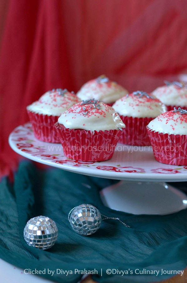 Red velvet Cupcakes recipe, Easy red velvet cupcake recipe
