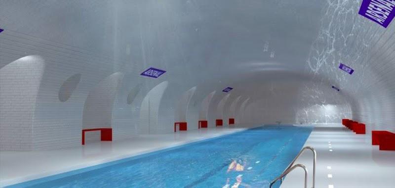 estaciones de metro de París abandonadas se convertirán en piscinas
