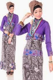 Desain Gambar Model Baju Busana Muslim Terbaru 2015