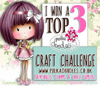 Top 3 at Polkadoodles Craft