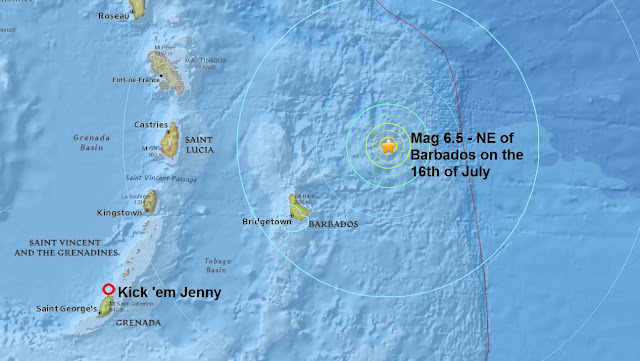 Kick 'em Jenny Volcano Tsunami Threat Untitled