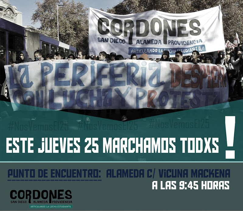 SANTIAGO CENTRO: ESTE JUEVES 25 MARCHAMOS TODXS
