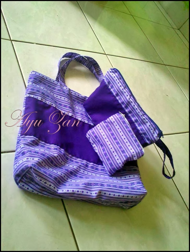 Set Beg Kaler Purple