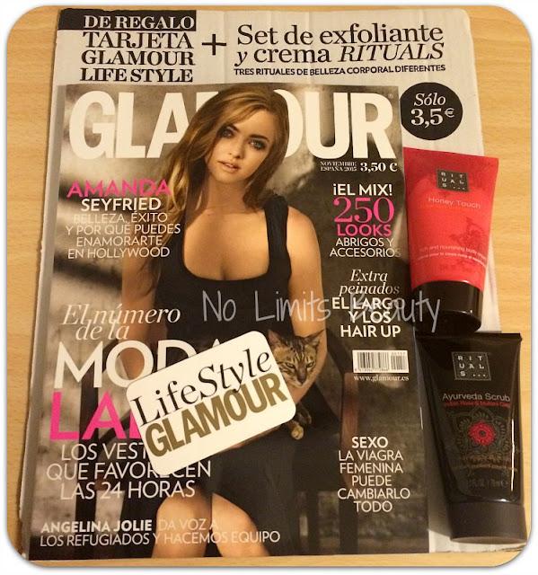 Regalo revista Glamour noviembre 2015: set de Rituals
