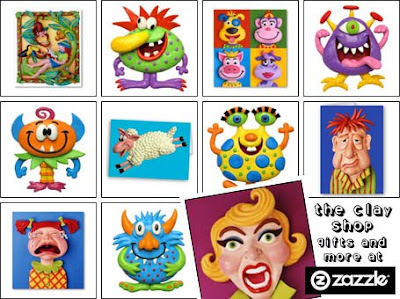 The Clay Shop at Zazzle