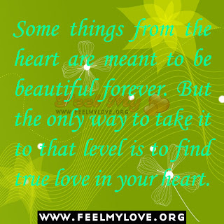 Some things from the heart