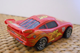 maqueta coche miniatura de personaje de Cars Rayo McQueen