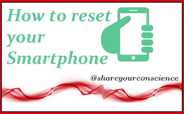 Reset Your Smartphone