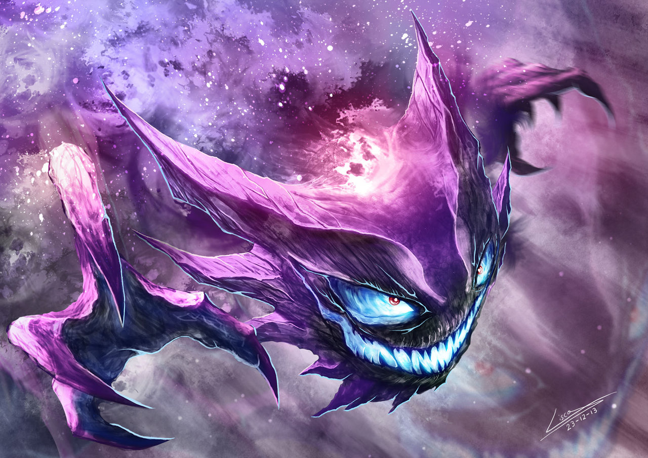 Pokémon By Review 92 94 Gastly Haunter Gengar