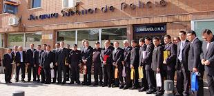 La policía peruana conoce el trabajo del Cuerpo Nacional de Policía
