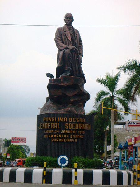 Purbalingga Indonesia  city photos : Salah satu tokoh pahlawan kebanggaan Indonesia. Namanya banyak ...