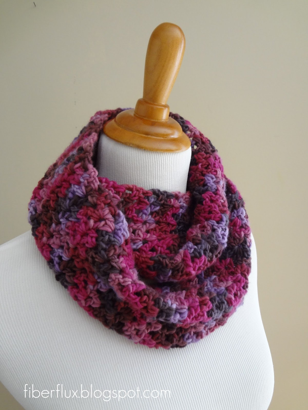 Crocheting Ends Of Infinity Scarf Together : Whip stitch the two ends together. Weave in all ends and youre ...