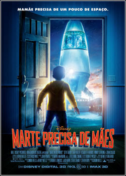 Download - Marte Precisa de Mães - DVDRip - AVI - Dublado