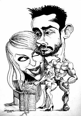 Καρικατούρα ζευγάρι