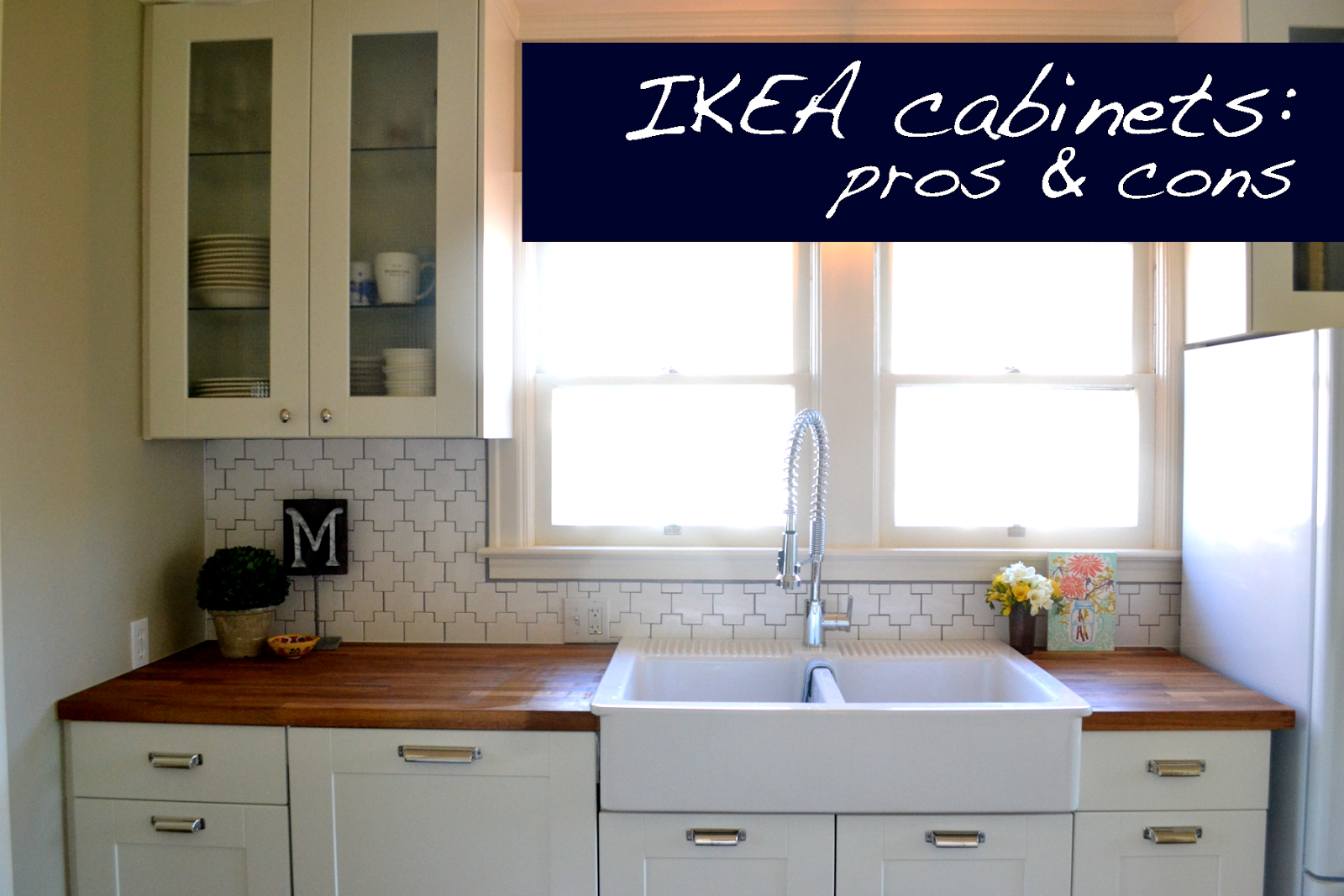 a home in the making: {renovate} pros and cons of IKEA cabinets