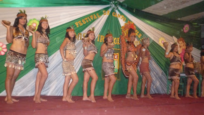 Candidatas a Miss Irazola 2011