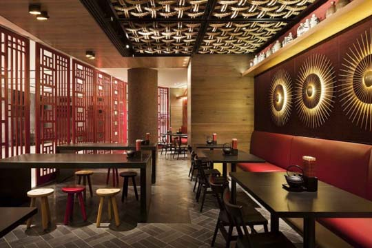Gochi restaurant design ideas by mim