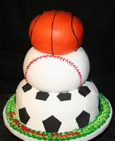 Cake Decorations For Sports : HOME OF SPORTS: Sports Birthday