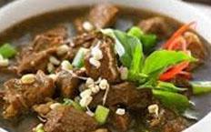 reseo praktis (mudah) sayur rawon daging spesial khas surabaya enak, gurih, lezat
