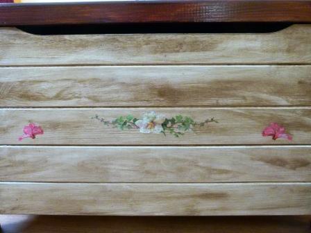 Mi rinc n de manualidades - Como pintar madera de pino ...
