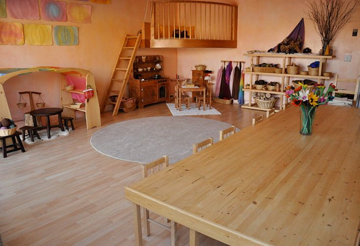 Moon to moon waldorf play rooms for Waldorf home