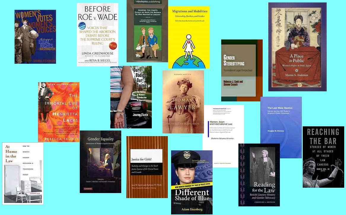 Gallagher Blogs Wide Ranging Books On Women And The Law