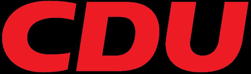 Rote Schrift auf weißem Grund