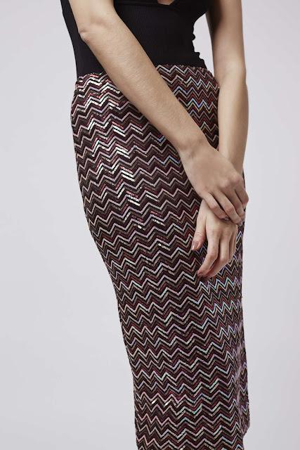 sequin chevron skirt, burgundy sequin skirt, sequin midi skirt,