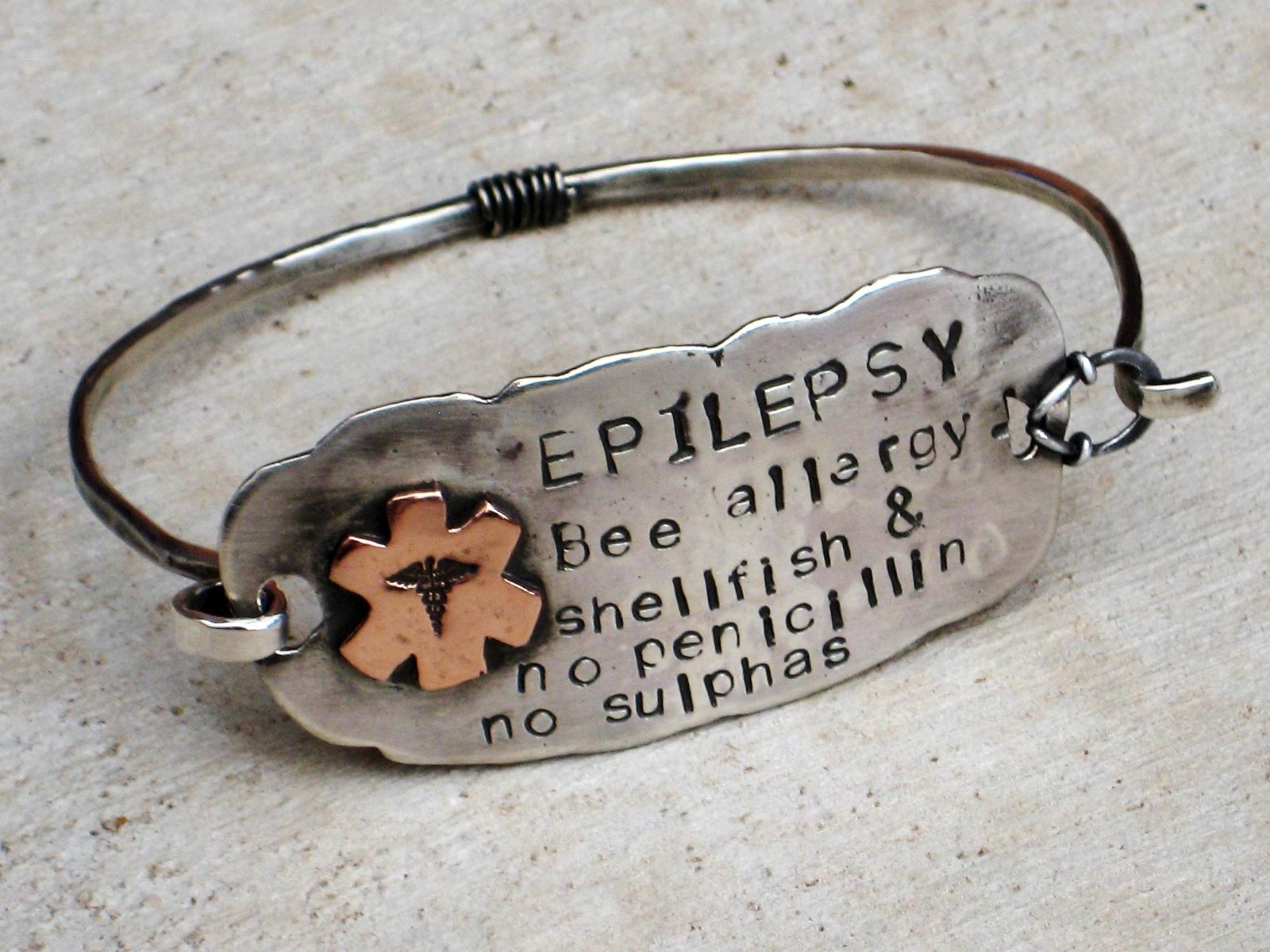 Bw Silver Custom Medic Alert Bracelet