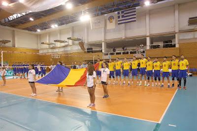 Romania - Belarus  Volei masculin