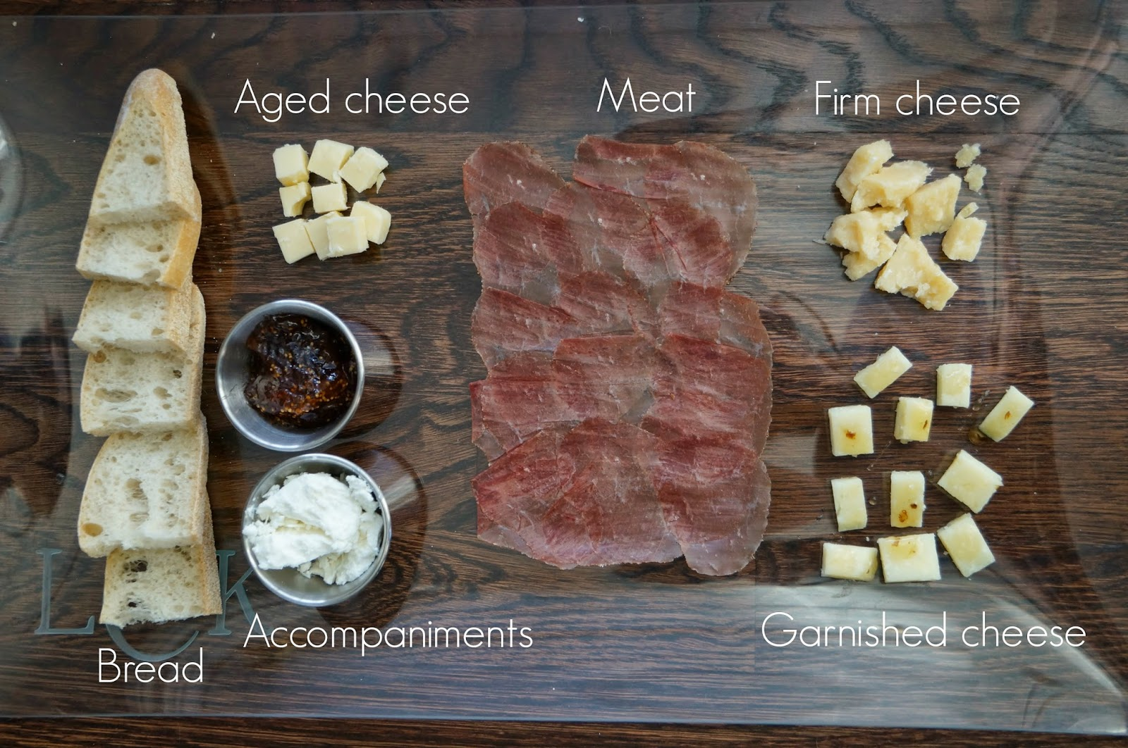 Here are what I believe to be great components of any cheese plate & Boston Sweet Tea Party: Date Night In | Cheese Board for Two