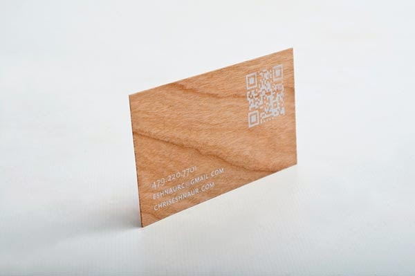 25 Astonishing Wood Business Cards from Most Talented