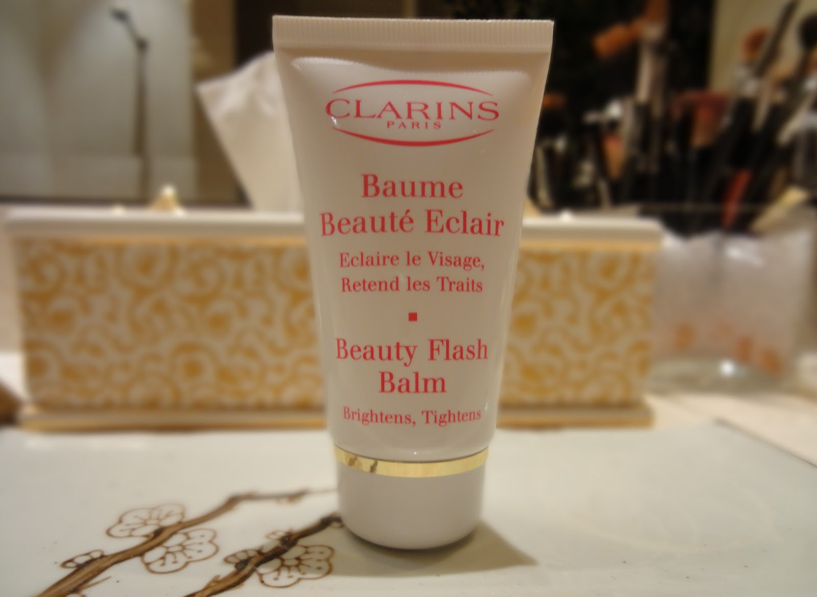 how to use beauty flash balm