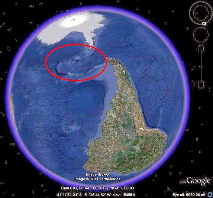 Capul de dragon din Oceanul Atlantic