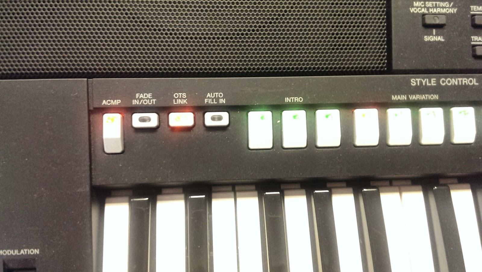 Yamaha стили psr синтезатора