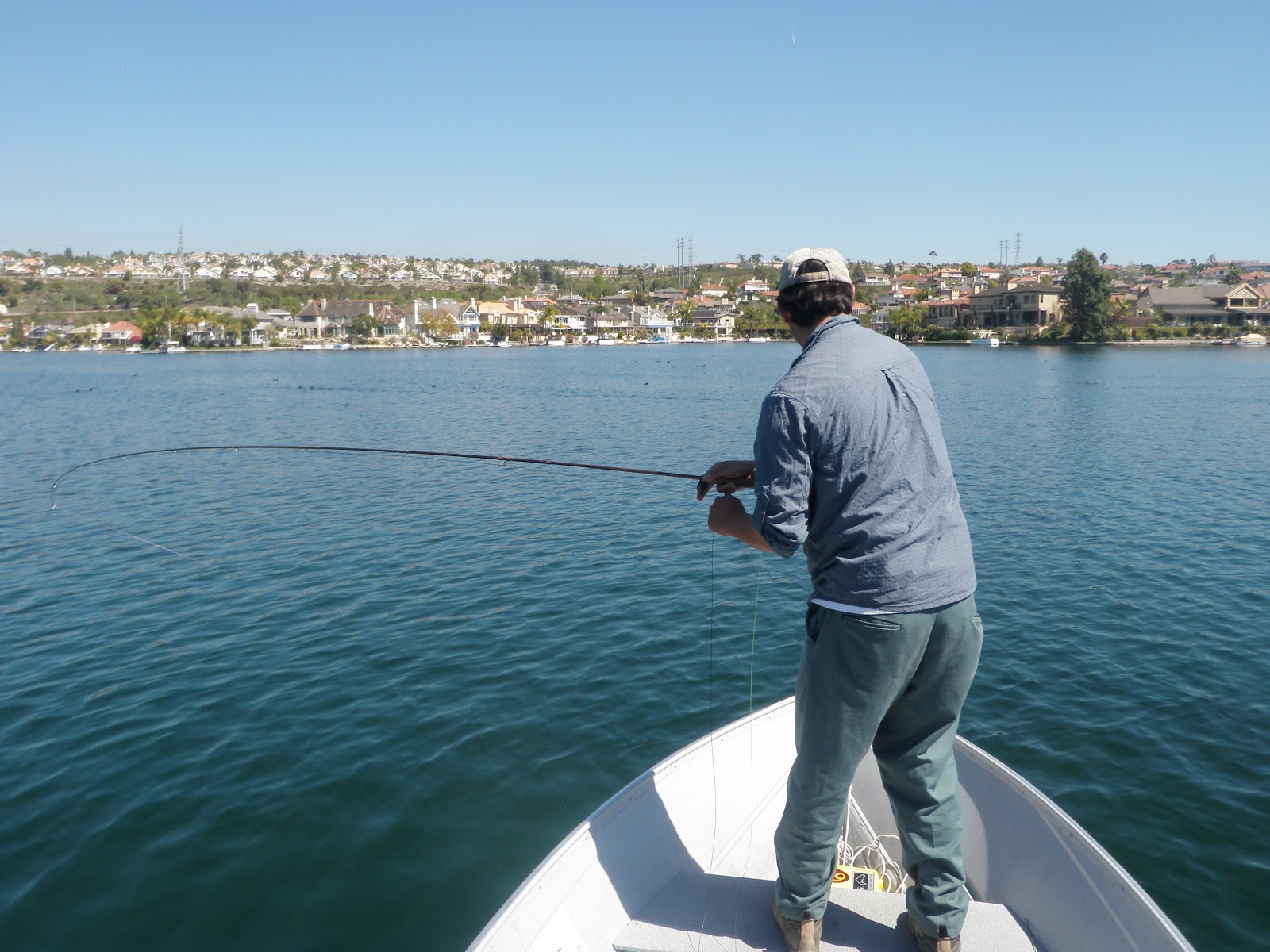 the gourmet sportsman return to mission viejo lake fly