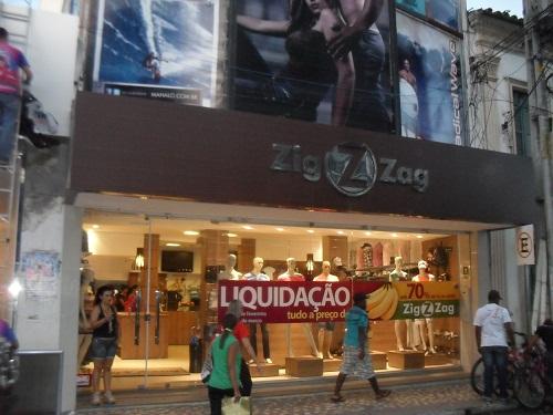Loja Zig Zag modas fará grande liquidação entre os dias 25 de fevereiro e 2 de março