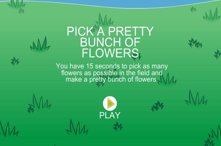 Kids Game : Flower Catch