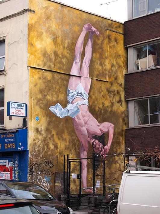 Breakdancing Jesus by Cosmo Sarson - Hamilton House, Bristol