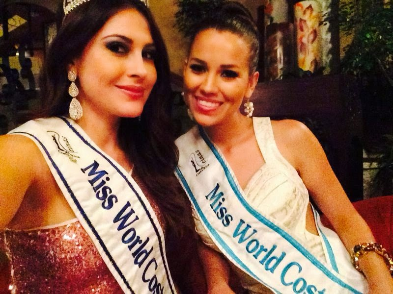 Miss World Costa Rica 2014 winner Mariam Natasha Sibaja Bermudez