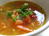 Urad Dal and Tomato Soup (Urad Tamatar Dal)